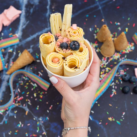 Thaice Cream - עמדת גלידות תאילנדיות