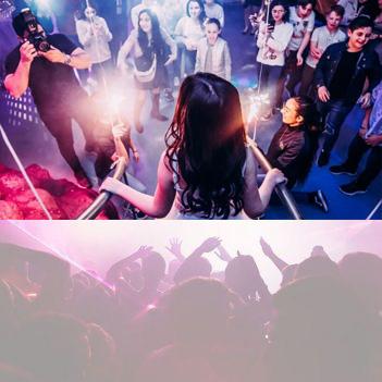דימסיה מועדון אירועים מעולם אחר לבת מצווה
