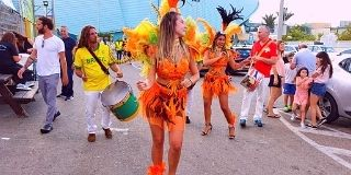 רקדנים / רקדניות ברזילאיות לאירוע לבר מצווה